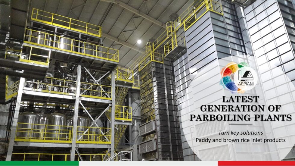 Appiani Brochure - Latest Generation of Parboiling Plants